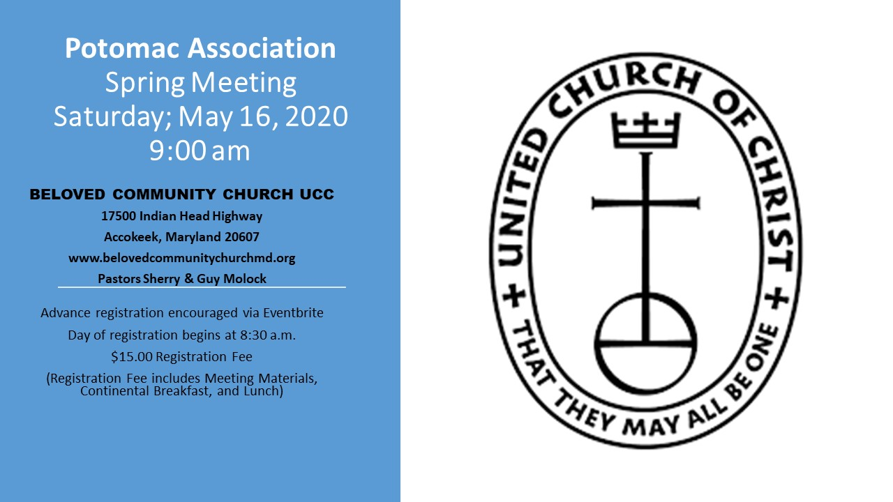Spring Meeting Announcement